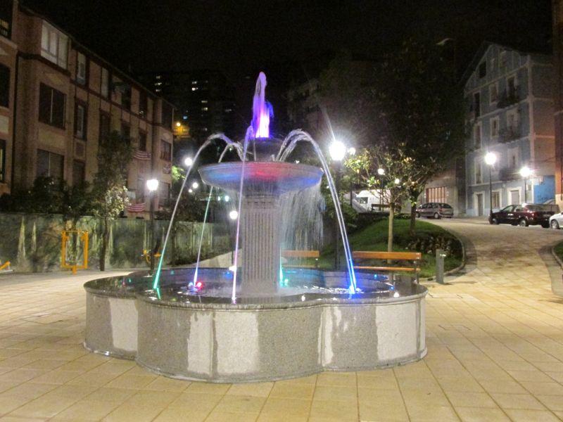fuente de piedra en Bilbao